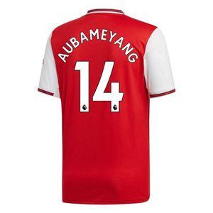 Football enfant ADIDAS Maillot Adidas Enfant Arsenal Domicile Flocage Officiel Aubameyang Numéro 14 Saison 2019/2020