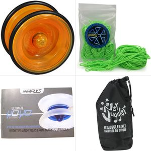 Cirque  HENRYS Yoyo Henrys Lizard Orange + 10 Ficelles Vert + Livret + Sac
