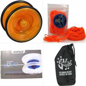 Cirque  HENRYS Yoyo Henrys Lizard Orange + 10 Ficelles Orange + Livret + Sac