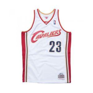 Basketball adulte MITCHELL & NESS Maillot NBA Lebron James Cleveland Cavaliers 2003-04 Mitchell & ness swingman Hardwood Classic Blanc Taille - L