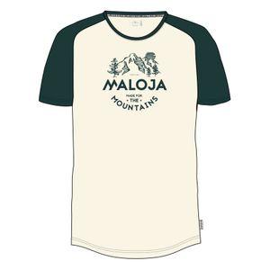 Urbain homme MALOJA MALOJA BeverM. T-Shirt pinetree