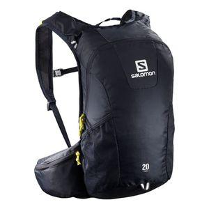 Course à pied  SALOMON Sac à dos Salomon Trail 20L noir logo blanc