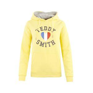 Mode- Lifestyle femme TEDDY SMITH Sweat Jaune Femme Teddy Smith Sofrench