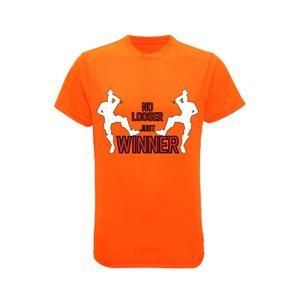 Mode- Lifestyle enfant NPZ Maillot - Tee shirt enfant Dance Gamer orange fluo Taille 7 é 13 ans