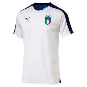 Football homme PUMA 2018-2019 Italie Puma Stadium Jersey (White)