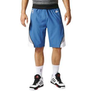 Mode- Lifestyle homme ADIDAS Timberwolves Swingman Homme Short Basketball Bleu Adidas