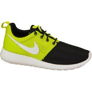 Mode- Lifestyle femme NIKE Nike Rosherun 599728-008 F Baskets Vert