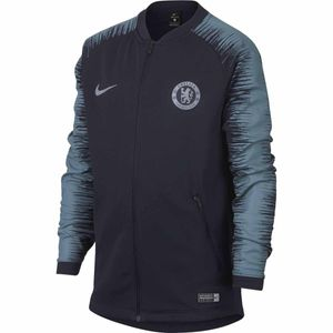 Football garçon NIKE Veste de football Nike Chelsea FC Anthem Junior - AA3333-455