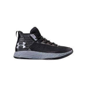 Basketball enfant UNDER ARMOUR Chaussure de Basket Under Armour BGS Jet Mid Noir pour junior Pointure - 38.5