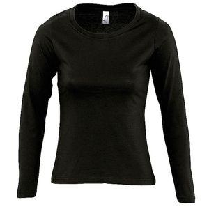 Mode- Lifestyle femme SOL S T-shirt manches longues FEMME - 11425 - noir