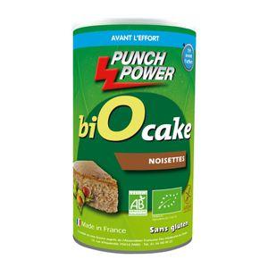PUNCH POWER Gateau énergétique Biocake Punch Power noisette – 400g