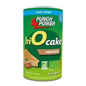 PUNCH POWER Gateau énergétique Biocake Punch Power amande – 400g