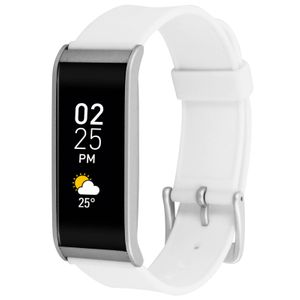 Objet connécté - high tech  MYKRONOZ MyKronoz Zefit 4 Tracker d'activité Montre Bracelet Connecté Bluetooth Blanc