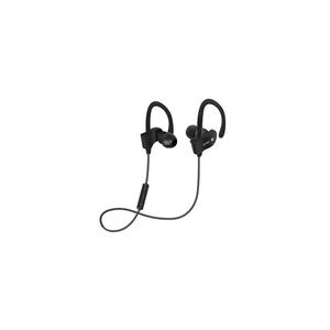 Objet connécté - high tech  auto-hightech Écouteur avec Micro, crochet et Bluetooth 4.1 -Noir