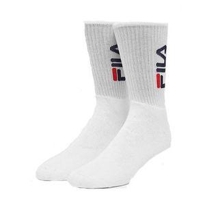 Tennis adulte FILA Lot de 2 paires de chaussettes vertical logo tennis socks CLASSIC