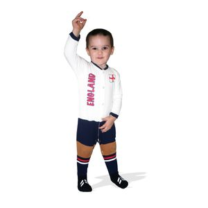 Football Bébé UKSOCCERSHOP England Football Baby Suit