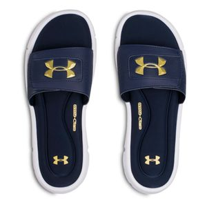 Mode- Lifestyle homme UNDER ARMOUR Ignite Homme Claquettes Marine Under Armour