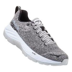 femme HOKA ONE ONE Chaussures Hoka One One Mach gris blanc femme