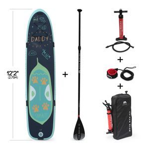 ALICE'S GARDEN Pack stand up paddle gonflable familial Super Trip 12'2