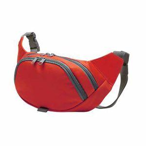 Randonnée pédestre adulte HALFAR Sacoche ceinture - sac banane - 1809793 - rouge