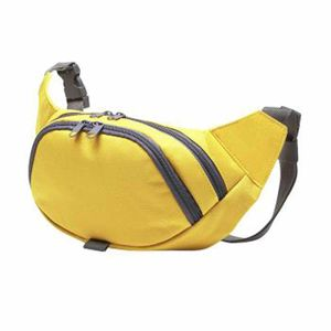 Randonnée pédestre adulte HALFAR Sacoche ceinture - sac banane - 1809793 - jaune