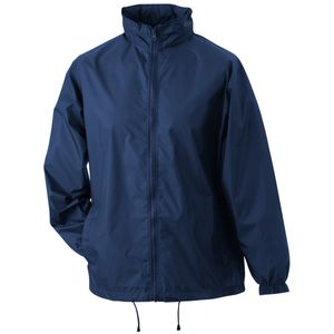 veste coupe vent imperm able homme femme jn195 bleu. Black Bedroom Furniture Sets. Home Design Ideas