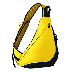 Bagagerie adulte HALFAR Sac à dos holster bandoulière - Slingpack City - 1803314 - jaune