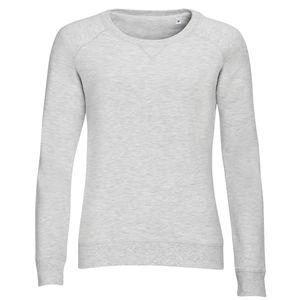 Mode- Lifestyle femme SOL S Sweat-shirt vintage pour femme - 01409 - blanc chiné