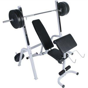 Musculation homme AUTRE Banc de musculations abdominaux haltères sport fitness musculation Helloshop26 0701081