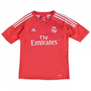 Football enfant ADIDAS 2017-2018 Real Madrid Adidas exterieur Goalkeeper Maillot (Kids)