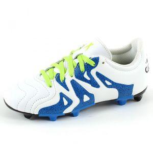 Football enfant ADIDAS PERFORMANCE Chaussures de football X 15.3 FG/AG Leather Junior Adidas Performance