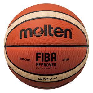 Basket ball  MOLTEN Ballon de basket Gm7x comp train indoor