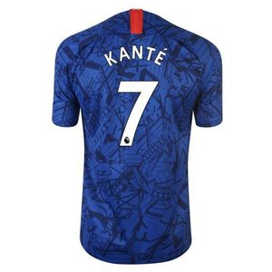 Football enfant NIKE Nouveau Maillot Enfant Nike Chelsea FC Domicile Flocage Officiel N'Golo Kanté Numéro 7 Saison 2019/2020