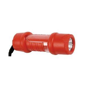 Camping  IHM Lampe de poche LED antichoc - IPX6 - matériaux ABS - Lentille incassable