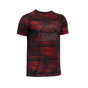 Mode- Lifestyle homme UNDER ARMOUR Big Logo Garçon Tee shirt Sport Rouge
