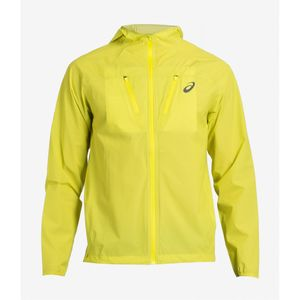 Course à pied homme ASICS Waterproof Jacket Yellow