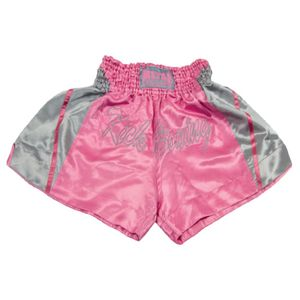 Kick boxing femme METAL BOXE Short de kick-boxing Metal Boxe en satin