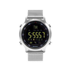 Objet connécté - high tech  auto-hightech Montre Bluetooth – Durée de vie de la batterie : jusqu'à 12 mois, rappel automatique, rappel de message, podomètre