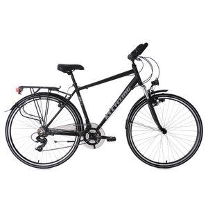 Cycle  KS CYCLING VTC homme 28'' aluminium Metropolis noir guidon multiposition TC 51 cm KS Cycling