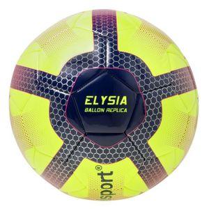 GENERIQUE BALLON DE FOOTBALL  Ballon de Football Elysia Replica - Jaune, bleu et rouge - Taille 5