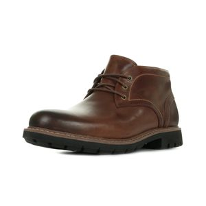 homme CLARKS Batcombe Lo Tan Leather