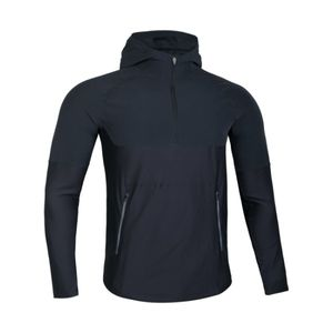 Mode- Lifestyle adulte UNDER ARMOUR Veste Zippé 1/4 Under armour Threadborne Vanish Popover Noir Pour Homme taille - M