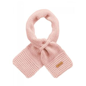 Ski Bébé BART'S BARTS-Echarpe naissance en maille rose tendre bébé fille du 0 au 18 mois Barts