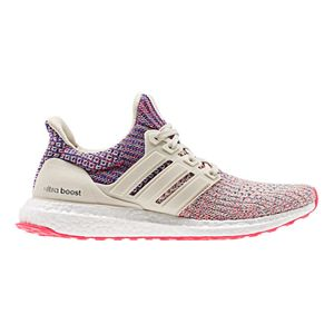 Course à pied homme ADIDAS Chaussures adidas Ultraboost blanc rose multicolore femme