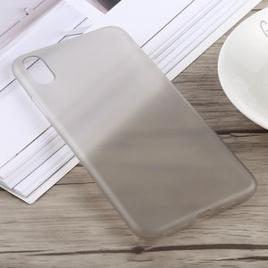 auto-hightech Coque housse pour iphone XS 0.3 mm Ultra-mince Dépoli PP pour l'iPhone XS Max (Gris)