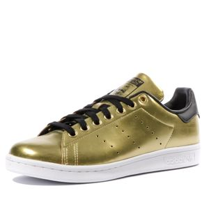 Mode- Lifestyle femme ADIDAS Stan Smith Femme Chaussures Or Adidas