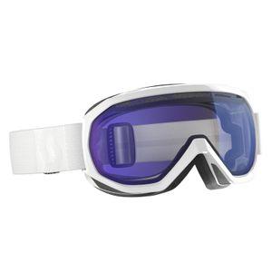 Sports d'hiver  SCOTT Masque De Ski / Snow Scott Notice Otg White Illuminator Blue Chrome