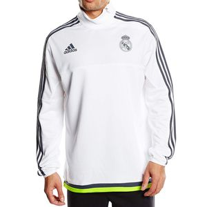 Mode- Lifestyle homme ADIDAS REAL TRG TOP M BLC - Sweat Real Madrid Football Homme Adidas