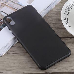 auto-hightech Coque housse pour iphone XS Ultra-mince Dépoli PP pour l'iPhone XS Max(Noir)