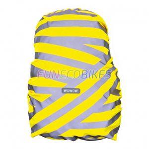 Cycle  WOWOW Housse de sac à dos réfléchissante et étanche jaune